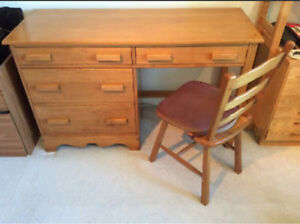 Looking for Vilas Maple Desk and dresser