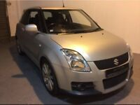 SUZUKI SWIFT SPORT PLUS 1.6 VVT, DOHC, RARE LEATHER, FULL MOT, 6 MONTHS WARRANTY, IMMACULATE.