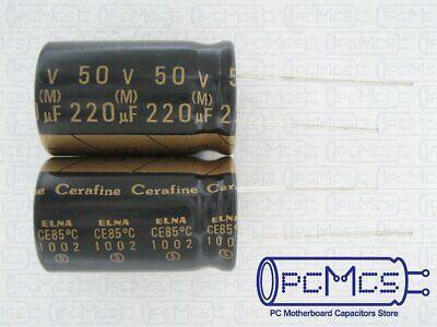 1 Pcs Of Elna For Audio Roa Cerafine 50v 220uf Hi-fi Capacitor Black Version