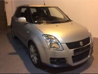 SUZUKI SWIFT SPORT PLUS 1.6 VVT, DOHC, RARE LEATHER, FULL MOT, 3 MONTHS WARRANTY, IMMACULATE.