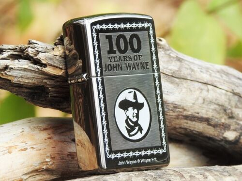 Zippo Lighter - John Wayne Collection - 100 Years - Limited Edition  - # 24090