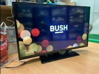 """BUSH 40"""" Full HD LED Freeview Smart TV With Remote"""