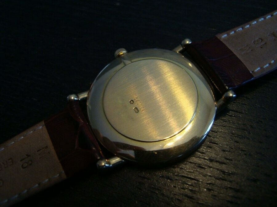 Chopard Watch Solid 18K Yellow Gold  LES CLASSIQUE Mens. - watch picture 1
