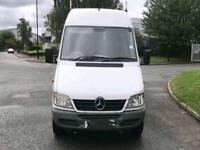 06 reg Mercedes sprinter 311cdi long wheel base side loading door long mot and tax
