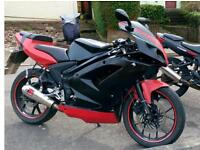 Rieju rs2 matrix 125cc for sale!!!