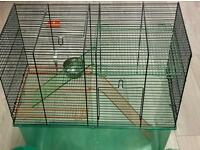 Gerbil or hamster cage gerbilarium - very good condition under 3 years old