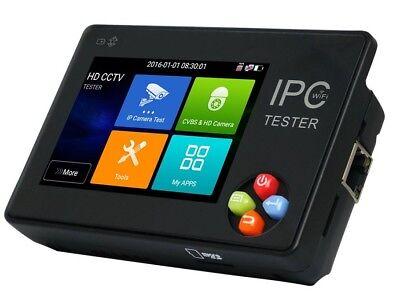 Ipc1600 Plus 3.5 Inch Ip Cctv Tester Monitor Cvbs Camera Onvif H.265 4k Ptz Wifi