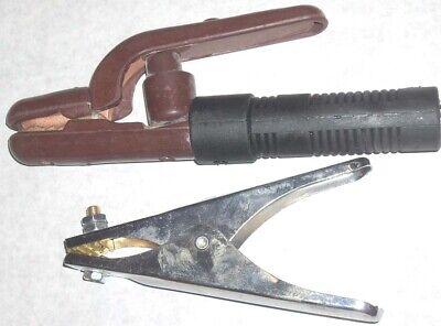 Jackson 300 Amp Stick Welding Electrode Holder 300 Amp Steel Ground Clamp