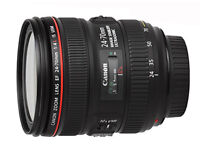 Canon 24 - 70mm f4 IS zoom lens