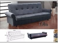 🌹🌹BRAND NEW🌹🌹3 SEATER SOFA BED WITH WITH STORAGE SOFABED CALL NOW FOR SAME DAY🌹🌹