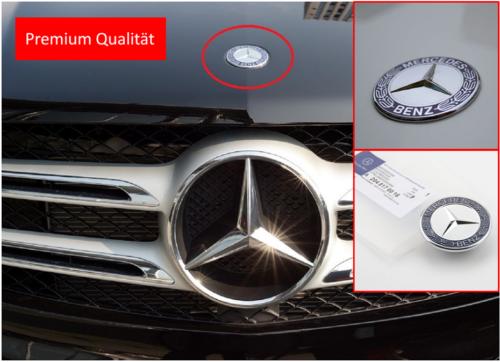 mercedes motorhaube ersatz stern emblem w205 c w212. Black Bedroom Furniture Sets. Home Design Ideas