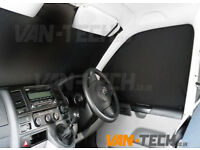 VW T5 Van Transporter Interior Cab Curtain set