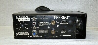 Lincoln Electric Hi-freq High Frequency Generator For Tig Welding Applications