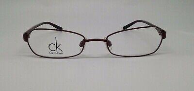 Calvin Klein CK 5124 Red 607 Metal Eyeglasses Frame 49-18-130 New RX