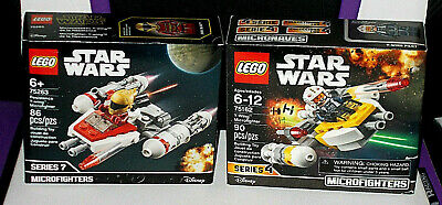 LEGO Star Wars Y-Wing Microfighter 2-Pack, Zori Bliss new