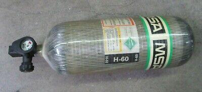 Msa H-60 Psi Air Bottle Cylinder Tank Tc-su 5134-310 Dot-e 10915 4500 Scba 609