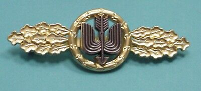 LUFTWAFFE FLYING CLASP – DAY FIGHTER – LONG RANGE - GOLD - FED. REPUBLIC PATTERN