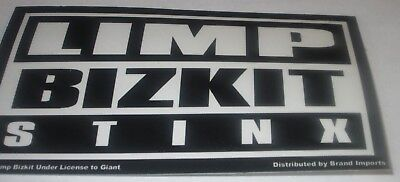 LIMP BIZKIT STICKER NEW EARLY 2000'S VINTAGE OOP RARE COLLECTIBLE