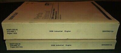 Cat Caterpillar 3208 Industrial Engine Parts Manual Sn 90n52893-up Sebp1306