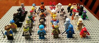 LEGO Various Theme Minifigures (YOU PICK) Space/Ninjago/Chima/Agents/LEGO Movie