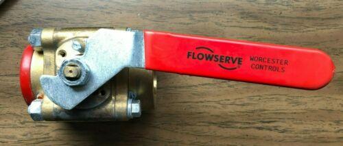 Flowserve Worcester Controls 2 V4411MTE R2CWP1000 MO5 Valve