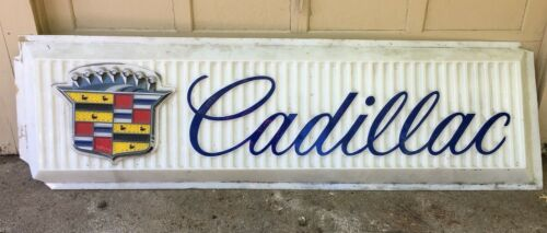 Cadillac Dealership Sign