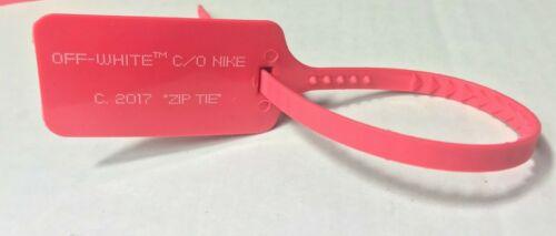 NIKE x OFF WHITE RED ZIP TAG tie air Jordan 1 Presto 2017 for Jordan The Ten