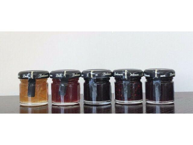DICKINSON'S Preserves Jam Jelly Multi Flavors Miniature 1 oz Sealed Jars U PICK