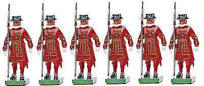 H.M. Queen Elizabeth's Beefeaters of the Tower - 1:32 Britains' painted metal