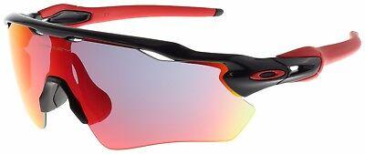 Oakley Radar EV Path Sunglasses OO9208-21 Polished Black | Positive Red Iridium