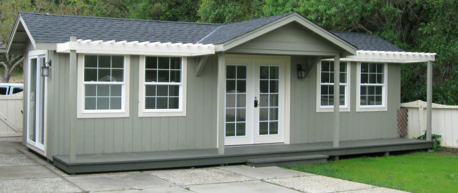 20 X 30 Guest House Cottage Modular Cabin 271218537186 on 16x40 cabin roof system