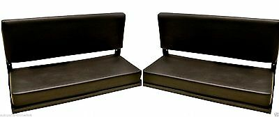 LAND ROVER DEFENDER 90/110-2 SEATS FOLDING REAR BENCH (2) WITH FITTINGS -320737
