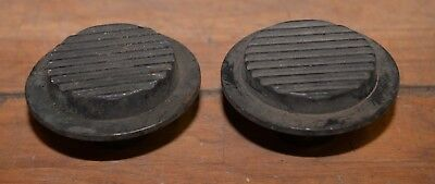 2 Beryllium Or Hastelloy Rare Earth Metal Disc Hi Wear Metal Workers Stock Lot