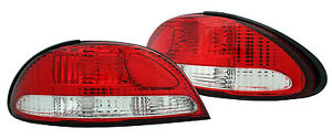 Ford Falcon EF EL Fairmont XR Red/White Tail Lights NEW