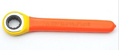 Cementex Igw-16 Insulated 100v Ratcheting Box Wrench 12 Inch
