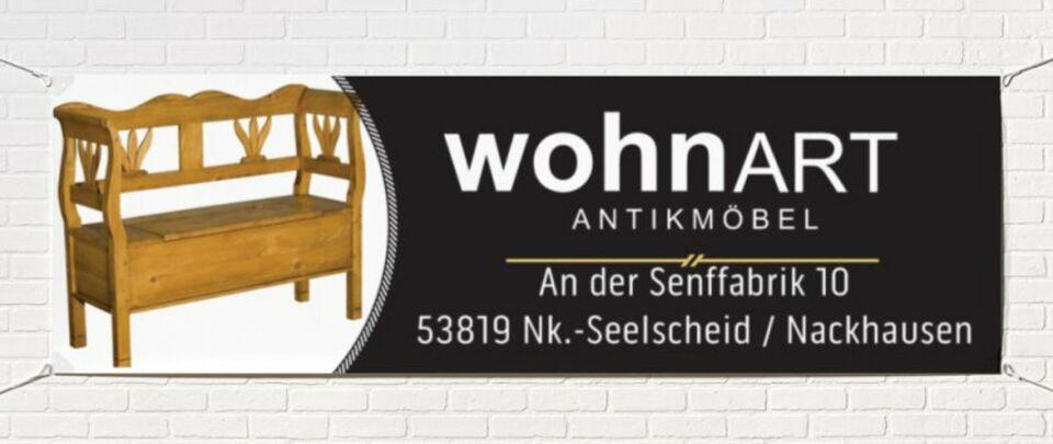 ★ ANTIK ★ Truhenbank Sitzbank 200cm Weichholz um 1870 Bank in Neunkirchen-Seelscheid