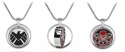 Htms Mv  Officially Licensed Marvel S H I E L D  Vs  Hydra Allegiance Pendant