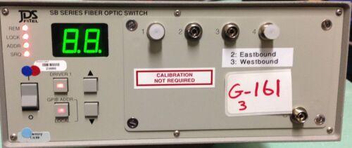Jds Fitel Sb04b5-c2fp Sb Series Fiber Optic Switch  1x4