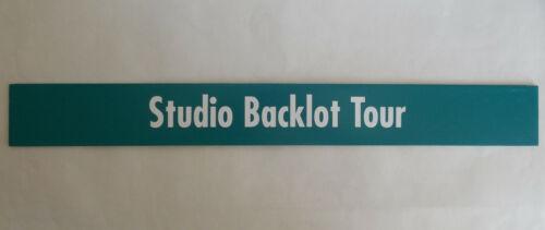 Retired MGM Hollywood Studios Backlot Tour Metal Sign Prop Walt Disney World