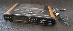 Sony Dream Machine ICF-C430 Digital Dual Alarm FM/AM Clock Radio Tested