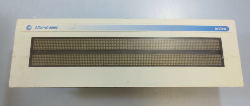 Allen Bradley InView Message Display 2706-P22R Ser A Rev B FRN 1.10