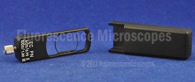 Zeiss Microscope Dic Slider 426945 Ec Pn 40x0.75 Ii Ec Pn 100x1.30 Iii