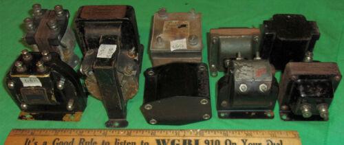 (10) Early Radio Audio Transformers w/ Open Windings Haynes DeForest Rauland