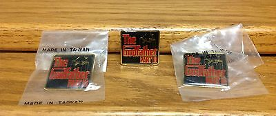 The Godfather Part III Promotional Movie Pin with Marionette Logo 3