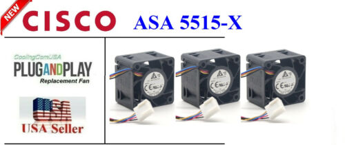 3 Pack New Replacement Fans for Cisco ASA 5515-X Satisfaction Guaranteed!