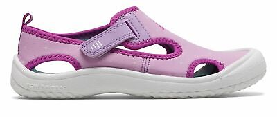 New Balance Kid's Cruiser Sandal Little Kids Female Shoes Pink with White &