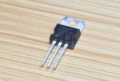 10pcs Lm317 Lm317t To-220 1.5a Voltage Regulator Ic