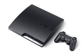 Sony PS3 Slim 120gb black - gta 5 - 1 controller - bargain