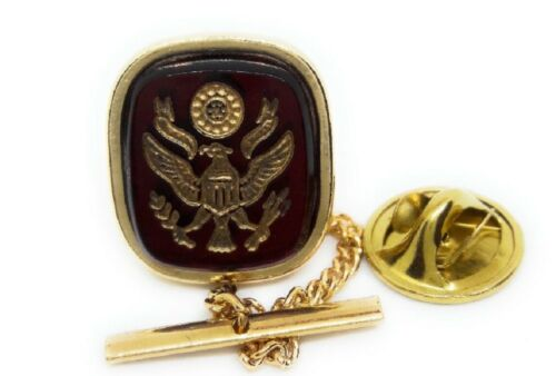 U.S.ARMY TIE TACK / LAPEL PIN GOLD