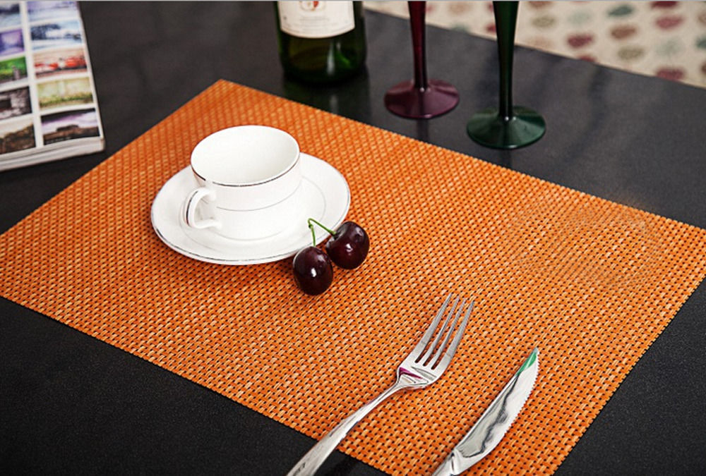 Sales Western Pvc Bowl Tableware Placemats Place Mat Table Coasters Dining Room Eur 3 06